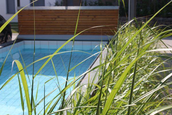 Poolbau gefliestes Schwimmbecken